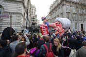 1 Juta Warga Inggris Anti-Brexit Penuhi Jalanan London