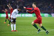 Portugal Vs Mesir, Cristiano Ronaldo 2, Mohamed Salah 1