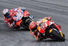 Dovizioso Akui Marquez Lebih Cepat di Valencia