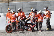 Marquez Berharap Tak Kecelakaan Lagi