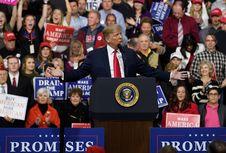 Ikut Pilpres AS 2020, Trump Ungkap Jargon Anyar