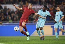 Barcelona Kalah dari AS Roma, Dzeko Sulit Jelaskan dengan Kata-kata