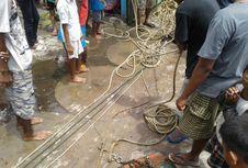 Nelayan di Bengkulu Sita Tiga 'Trawl' di Tengah Laut
