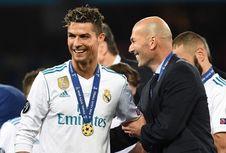 Modric Masih Tidak Percaya Ditinggal Zidane dan Ronaldo di Real Madrid