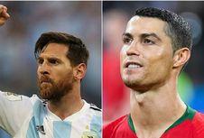 Hazard Nilai Level Messi Jauh di Atas Ronaldo