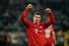Cetak 195 Gol di Bundesliga, Lewandowski Samai Rekor Pizarro