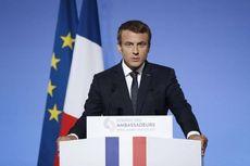 Macron Bujuk Trump untuk Tidak Tarik Pasukan dari Suriah
