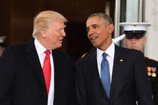 Sejak Jadi Presiden, Trump Belum Pernah Berbincang dengan Obama
