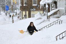 Kota di AS Ini Lumpuh akibat Salju yang Menumpuk