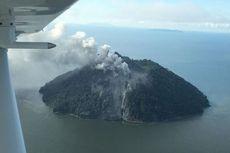 Tak Tercatat Aktif, Gunung Api di Pulau Kecil Papua Nugini Meletus