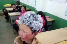 Terobos Dingin, Bocah di China Sekolah dengan Kondisi Setengah Beku