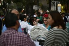 Gempa Bermagnitudo 7,2 Guncang Meksiko, 2 Orang Tewas