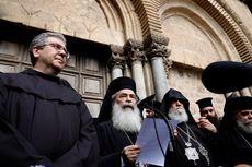 Protes Aturan Pajak, Gereja Makam Yesus di Yerusalem Ditutup