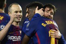 Hasil Liga Champions, Gol Lionel Messi Bawa Barcelona Hentikan Chelsea