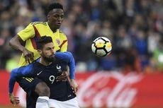 Sempat Unggul 2 Gol, Perancis Kalah dari Kolombia di Kandang