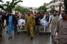 Protes Serangan ISIS, Jasad Korban Penembakan di Pakistan Diarak