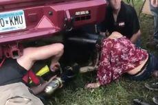 Kepala Gadis AS Terjebak di Dalam Knalpot Mobil Selama 45 Menit