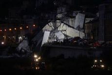 Kisah Pengemudi Nyaris Tewas saat Jembatan di Italia Ambruk