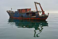 Kapal Barang Kosong Berbendera Indonesia Terdampar di Myanmar