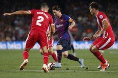 Hasil Barcelona Vs Girona, Rekor Messi Hanya Berujung Hasil Seri