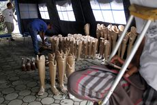 100 Penyandang Disabilitas di Aceh Dapat Bantuan Kaki dan Tangan Palsu