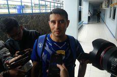 Esteban Vizcarra Siap Main Lawan Persebaya di Piala Presiden 2019