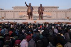 Di Suhu Minus 8 Derajat Celcius, Warga Korut Rayakan Ultah Kim Jong Il