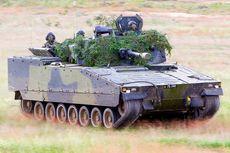 Seorang Tentara Swedia Tewas Terlindas Tank dalam Latihan Perang