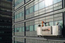 Intip Aksi Robot Pertama yang Bersihkan Kaca Gedung Pencakar Langit