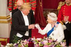 Dijamu Makan Malam Kerajaan yang Mewah, Trump Puji Ratu Elizabeth II