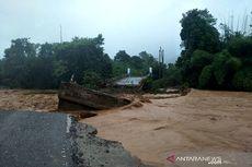 Jembatan Hanyut, Jalur Trans Sulawesi Sulteng-Sultra Terputus
