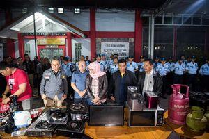Kulkas, TV, hingga Uang Rp 102 Juta Ditemukan di Kamar Napi Lapas Sukamiskin