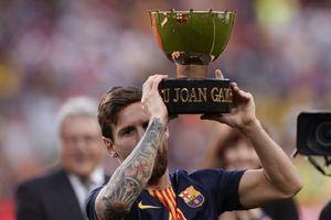 Gol dan Umpan Lionel Messi Tentukan Kemenangan Barcelona