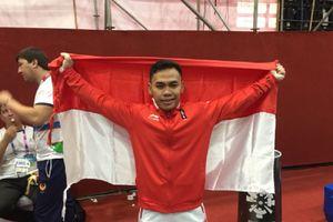 Atlet Angkat Besi Eko Yuli Raih Medali Emas bagi Indonesia