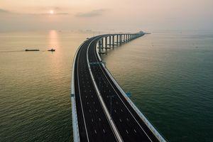 China Resmi Operasikan Jembatan Terpanjang di Dunia
