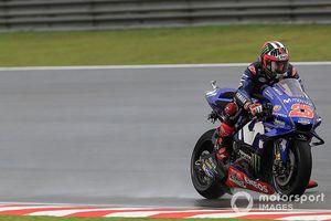 Kualifikasi MotoGP Valencia, Marquez Sempat Jatuh, Vinales Pertama