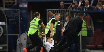 Penyusup pada partai final Piala Dunia…