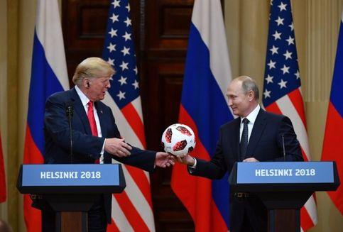 Diplomasi Sepak Bola ala Putin Ketika Bertemu Trump
