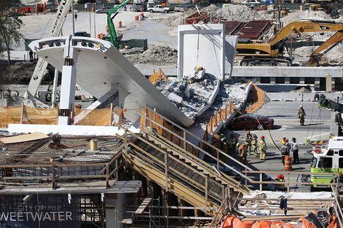Teknisi Sempat Laporkan Ada Masalah pada JPO yang Roboh di Miami