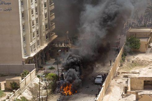 Jelang Pilpres, Ledakan Bom Mobil Tewaskan Dua Orang di Mesir