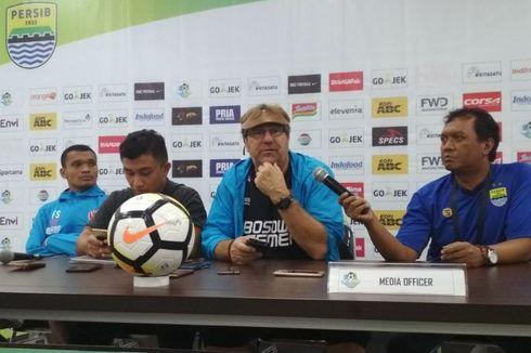 Pelatih PSM Puji Ferdinand Sinaga Usai Cetak Gol Lawan Bhayangkara