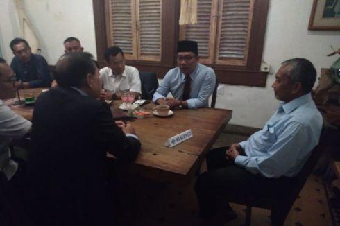 Bentuk Tim Transisi, Ridwan Kamil Lirik Program Pasangan Asyik