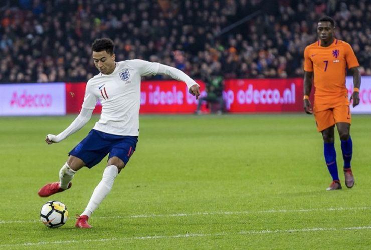 Tembakan Jesse Lingard Tentukan Kemenangan Inggris atas Belanda
