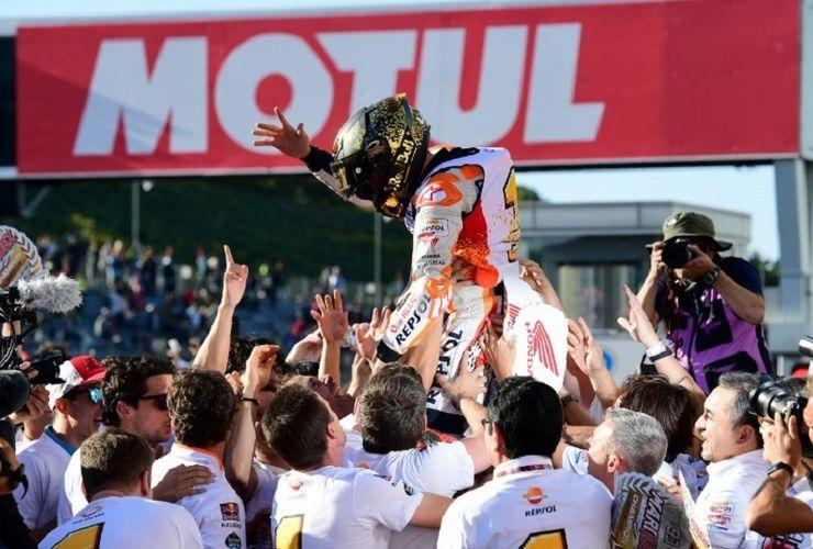 Marc Marquez Belum Puas Raih Gelar Juara MotoGP