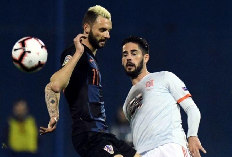 Hasil Kroasia Vs Spanyol, Ketat di Grup 4 Liga A UEFA Nations League