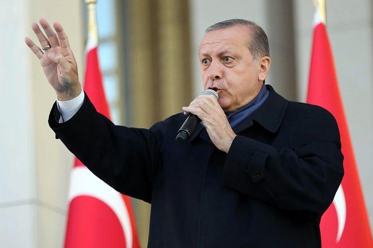 Presiden Turki, Recep Tayyip Erdogan.