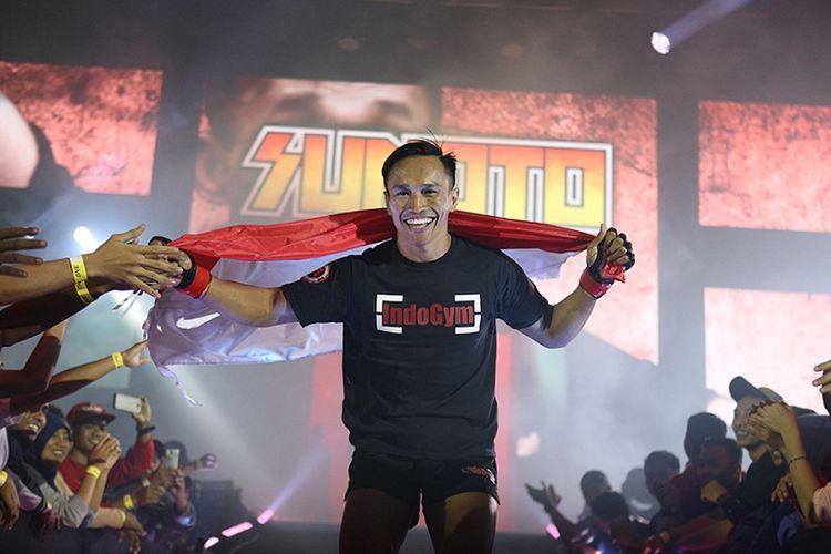 Petarung seni bela diri campuran asal Indonesia, Sunoto.