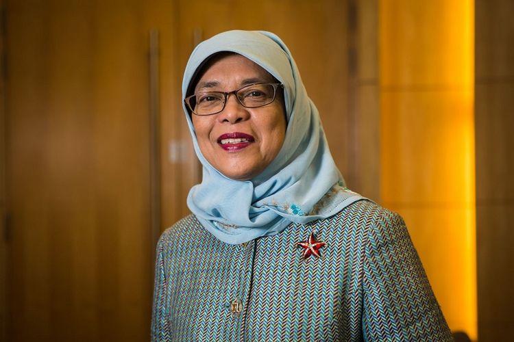 Presiden terpilih Singapura Halimah Yacob
