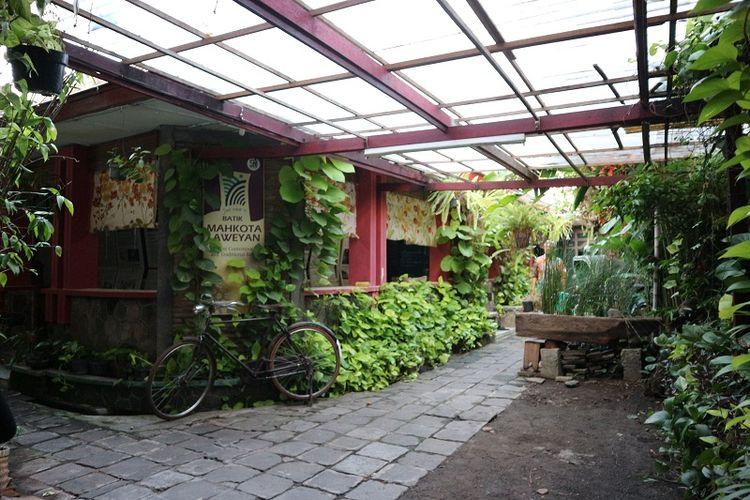Kampung Laweyan di Solo, Jawa Tengah.
