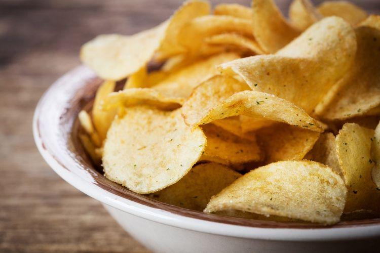 Kripik kentang.